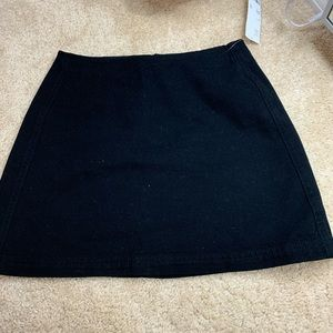 Urban outfitters black jeans skirt